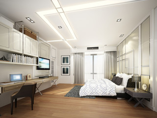 3d rendering of interior bedroom