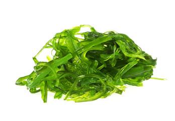 Japanese Cuisine - Chuka Seaweed Salad isolated on a white backg