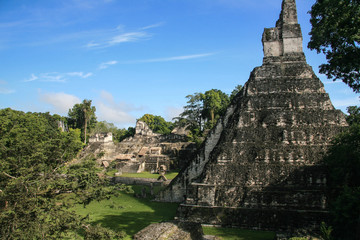 Mayan ruins of Tikal in Guatemala.