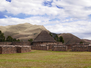 Village in the Andes, Peru