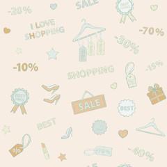 Shopping set pattern