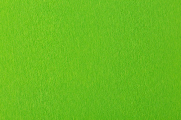 High resolution close up of lime-yellow felt.