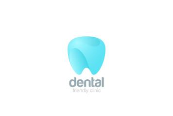 Dental Clinic Logo Tooth design. Dentist stomatology icon