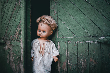 doll at the gate