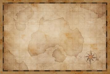 treasure island pirates old map