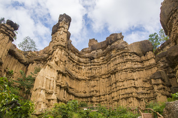 Pha Chor (Canyon), in national park which is Unseen Thailand at