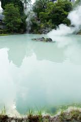 Hot springs in Beppu city