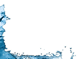 Water Splash Border