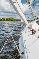 Sailing yacht race, regatta.