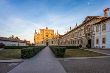 Pavia Carthusian monastery and gardens