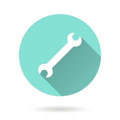 Wrench - vector icon.