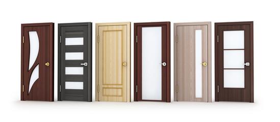 Six doors
