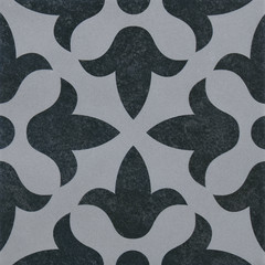 Vintage tile with geometric pattern 2