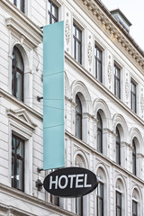 City Center Hotel Sign