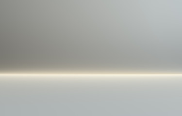 Illuminated gray gradient background