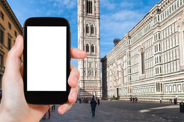 photo of Duomo and campanile in Florence