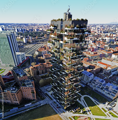 Bosco verticale milano porta nuova residenze - Residenze di porta nuova ...