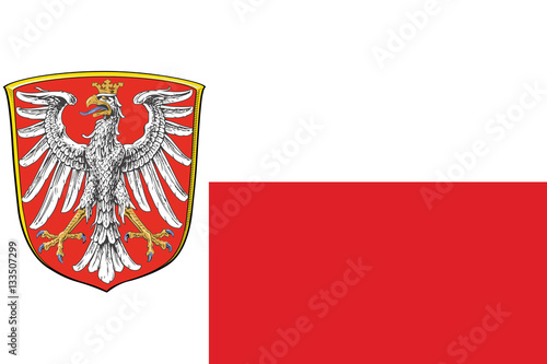 flag of frankfurt am main germany vector format stock image and royalty free vector files on. Black Bedroom Furniture Sets. Home Design Ideas