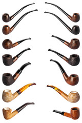 collection pipes for smoking tobacco