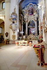 Interior of the St. George's Cathedral is a Ukrainian Greek Catholic Church in Lviv