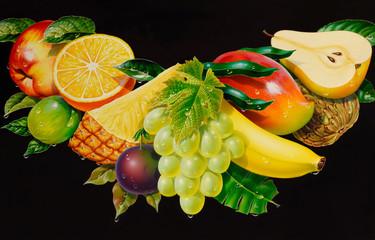 Früchte Illustration