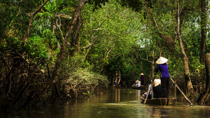 A ride in delta mekong