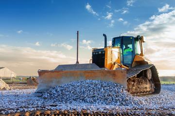 bulldozer,en action