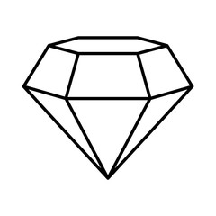 game diamond isolated icon vector illustration design