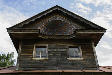 old Russian wooden architecture