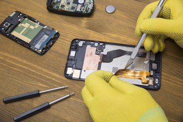 Repair of cellular phones, screwdrivers