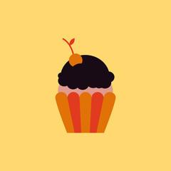 Maraschino Cherry Cupcake