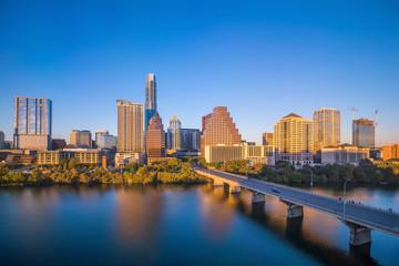 Fotomurales - Downtown Skyline of Austin, Texas