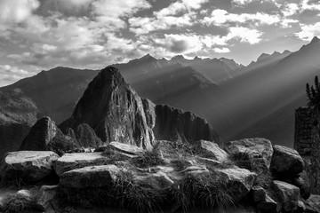 Machu Picchu Sunbeams