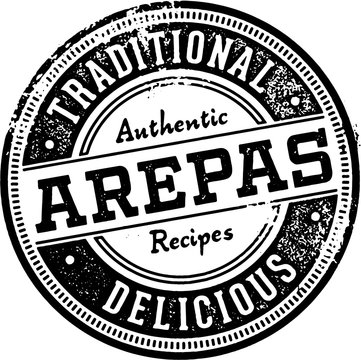 Traditional Latin Arepas Food Stamp
