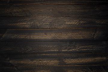 Dark wood background textured