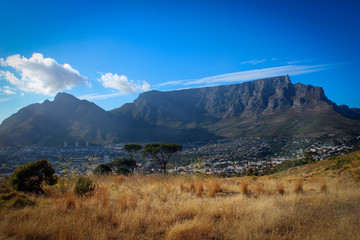 Table Mountain view, Cape Town, South Africa