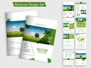 Creative Business Brochure set.