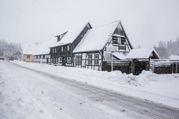 Güntersberge im Winter