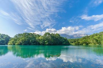 japanese landscape - goshiki numa - ura bandai - fukushima