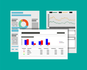 financial reports and documents