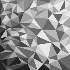 Gray Polygonal Background