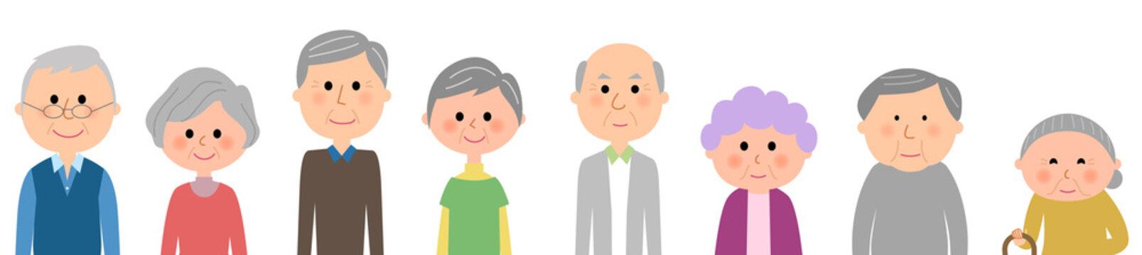 高齢者 シニア 老人