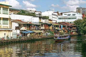 river canal in Bangkok