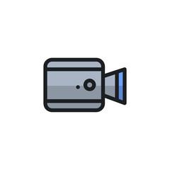Camera Icon Illustration Isolated Vector Sign Symbol