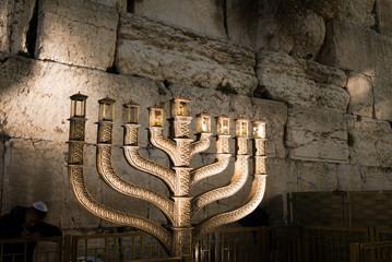 Hanukkah celebrations in Jerusalem