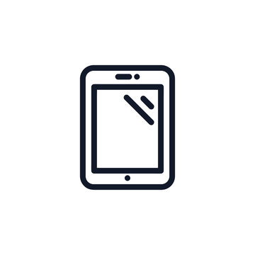 Tablet Icon Illustration Isolated Vector Sign Symbol