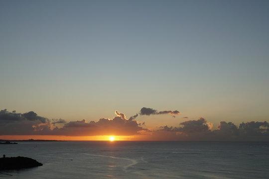 沖縄 10 夕日 sunset