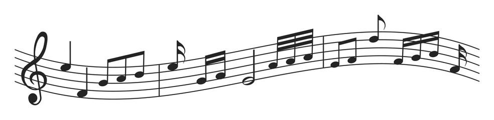 Musik, Musiknoten, Melodie