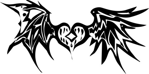 love and the black wings love