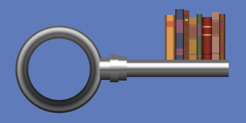 Savoir - Connaissance - Solution - clé - Livre